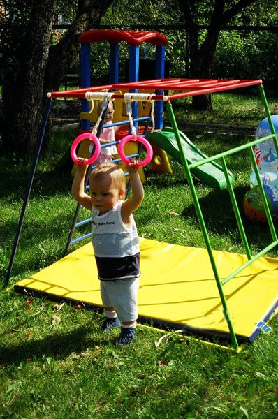 Спортивный уголок детский на даче
